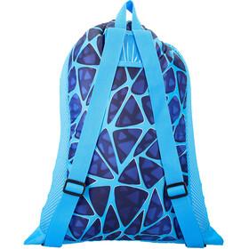 speedo Deluxe Ventilator Mesh Bag L, cage blue